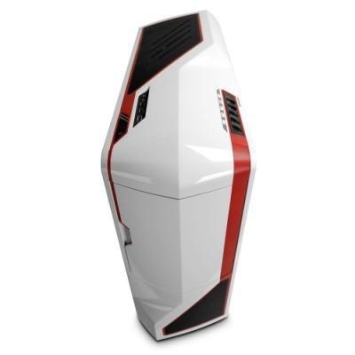 Skříň NZXT Phantom bílo - červená
