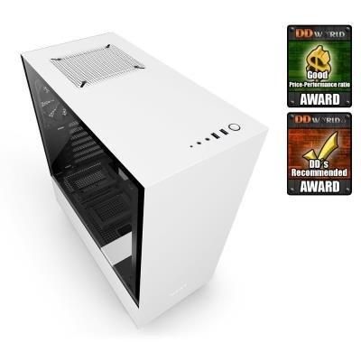 Skříň NZXT H500 bílá