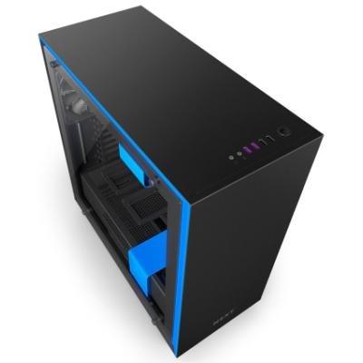 Skříň NZXT H700 černo-modrá