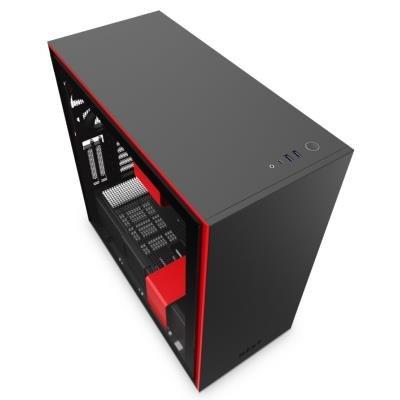 Skříň NXZT H710i černo-červená