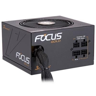 SEASONIC zdroj FOCUS Gold 650 / SSR-650FM / akt. PFC / 120mm / semi-modulární / 80+ Gold
