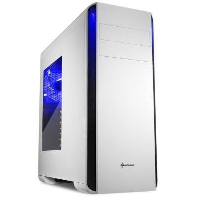 Skříň Sharkoon BW9000-W bílá