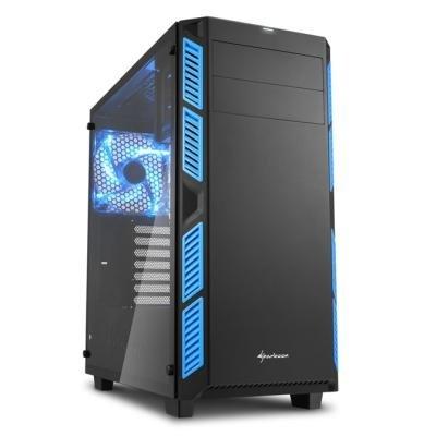 Skříň Sharkoon AI7000 Glass modrá
