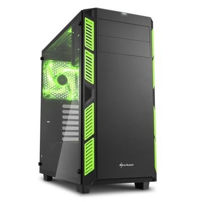 Skříň Sharkoon AI7000 Glass zelená