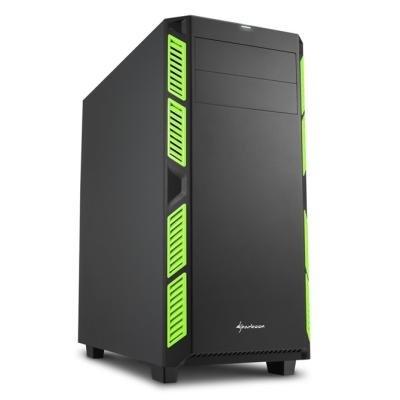 Skříň Sharkoon AI7000 Silent zelená