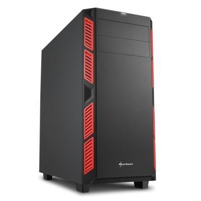 Skříň Sharkoon AI7000 Silent červená