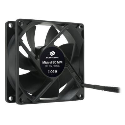 Ventilátor SilentiumPC Mistral 80