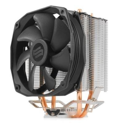 SilentiumPC chladič CPU Spartan 3 LT HE1012/ ultratichý/ 100mm fan/ 2 heatpipes/ PWM/ pro Intel i AMD