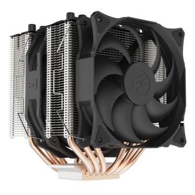 SilentiumPC chladič CPU Grandis 3 / ultratichý/ 1x140mm a 1x120mm fan/ 6 heatpipes/ PWM/ pro Intel i AMD