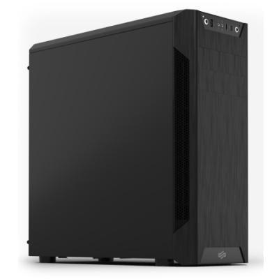 SilentiumPC skříň MidT Armis AR7 Black / 2x USB 3.0 / 3x 120mm fan / černá