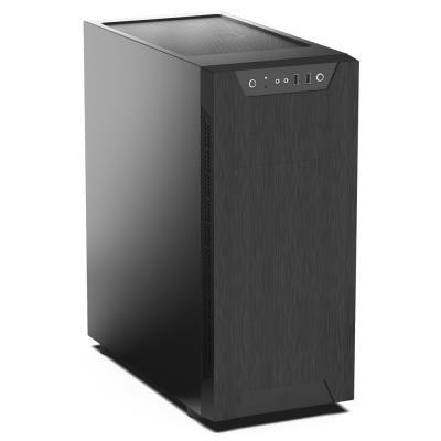 SilentiumPC skříň MidT Armis AR5 / 2x USB 3.0/ 2x 120mm fan/ černá