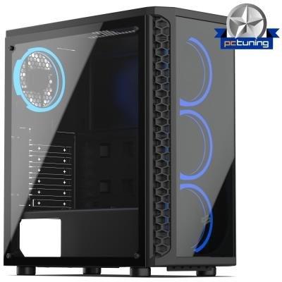 Skříň SilentiumPC Signum SG1X TG RGB Pure Black