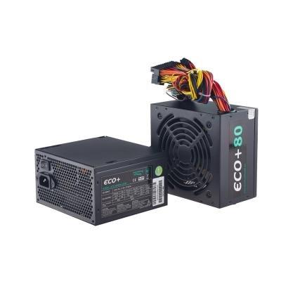 EUROCASE zdroj ECO+85 ATX-350WA-12-80(85)/ 12cm fan / PFC / 6+2 pin PCI-E / typ. uc. 85