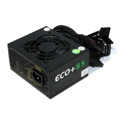 OPRAVENÉ - EUROCASE zdroj ECO+85 SFX-250WA/ 8cm fan/ PFC 20/24pin/ 2x SATA - typ. uc. 85