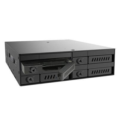 "CHIEFTEC backplane do 5,25"" na 4x 2,5"" SATA HDDs/SDDs (7-9,5mm)"