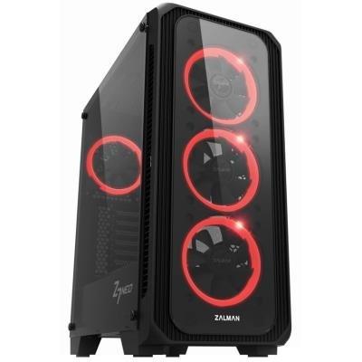 POŠKOZENÝ OBAL - Zalman skříň Z7 NEO / Middle tower / ATX / USB 3.0 / USB 2.0 / průhledná bočnice