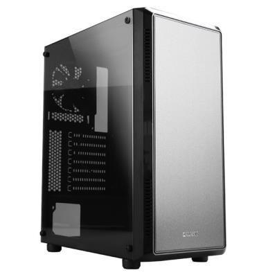 Zalman skříň S4 / Middle tower / ATX / USB 3.0 / USB 2.0 / průhledná bočnice