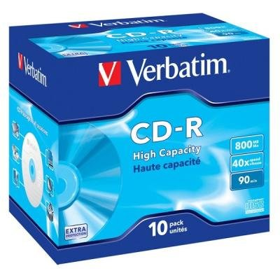 CD médium Verbatim CD-R90 800MB 10ks