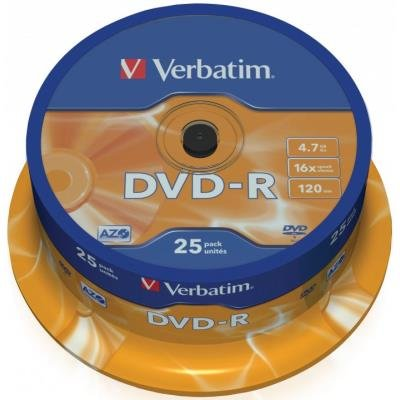 DVD médium Verbatim DVD-R 4,7GB 25ks