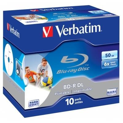 Blu-Ray medium Verbatim BD-R DL 50GB 10ks