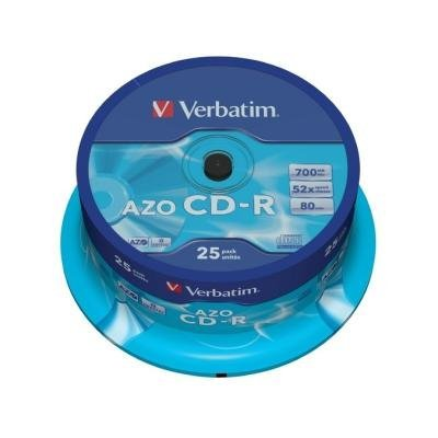 CD médium Verbatim CD-R80 700MB 25ks