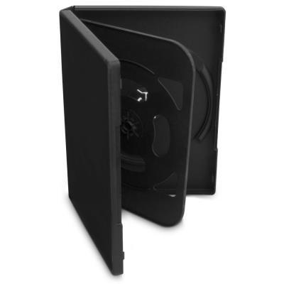 COVER IT box na 4ks DVD médií/ 19mm/ černý/ 5pack