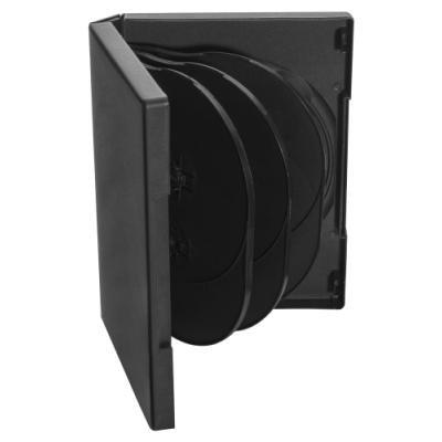 COVER IT box na 8ks DVD médií/ 27mm/ černý/ 5pack