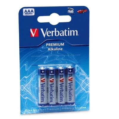 Baterie Verbatim AAA alkalické 4ks