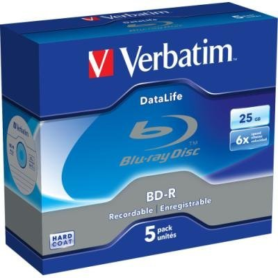 Blu-Ray médium Verbatim BD-R 25GB 5ks