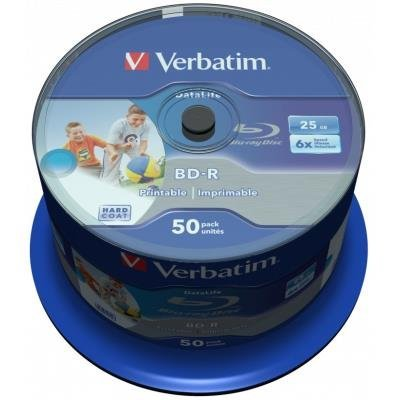 Blu-Ray médium Verbatim BD-R DataLife 25GB 50ks