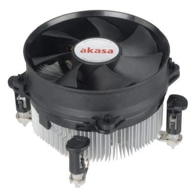 AKASA chladič CPU / AK-959CU / Intel 775,1150,1156 / výška 62mm