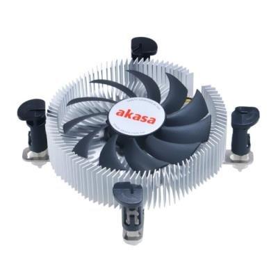 OPRAVENÉ - AKASA chladič CPU / AK-CC7122EP01 / Intel 775,1156,1155 / 80mm