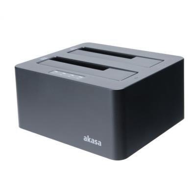 Box na disk Akasa DuoDock X3