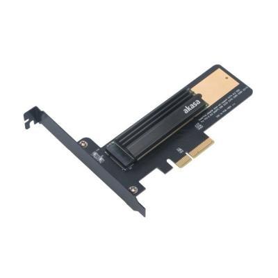 Adaptér Akasa M.2 SSD do PCIe s chlazením