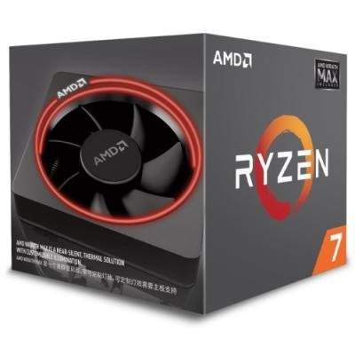 AMD Ryzen 7 2700 / Ryzen / LGA AM4 / 3,2 GHz / 8C/16T / 20MB / 65W / BOX with Wraith MAX cooler