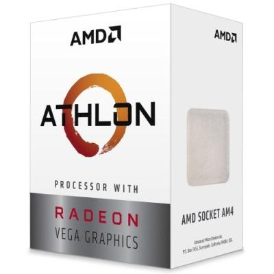 AMD Athlon 220GE / Raven Ridge / LGA AM4 / 3,4 GHz / 2C/4T / 5MB / 35W / VEGA / BOX