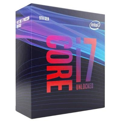 INTEL Core i7-9700K / Coffee Lake R / LGA1151 / max. 4,9 GHz / 8C/8T / 12MB / 95W TDP / BOX bez chladiče