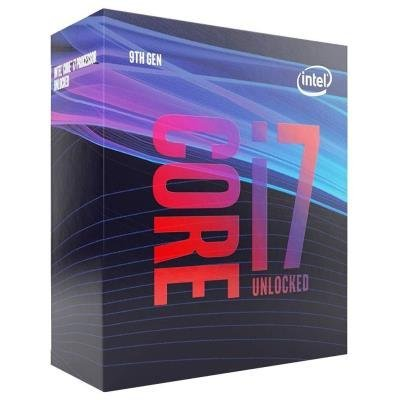 INTEL Core i7-9700 / Coffee-Lake R / LGA1151 / max. 4,7GHz / 8C/8T / 12MB / 65W TDP / BOX