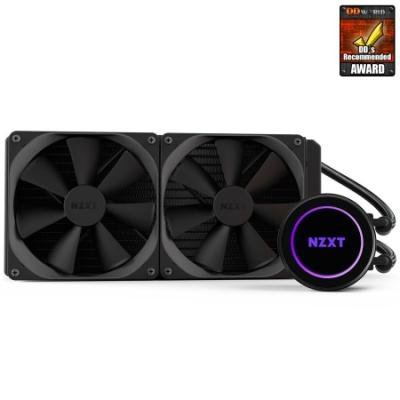 NZXT vodní chladič Kraken X62 / 2x 140mm fan / LGA 2011-3/1366/1156/1155/1150/FM2/FM1/AM3+/AM3/AM2+/AM2/TR4 / 6 let