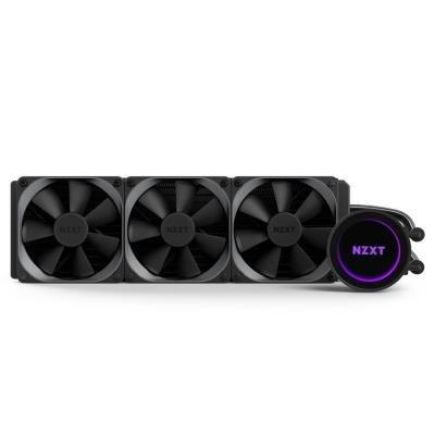 POŠKOZENÝ OBAL - NZXT vodní chladič Kraken X72 / 3x120mm fan / LGA 2011-3/1366/1156/1155/1150/FM2/FM1/AM4/AM3+/AM3/AM2+/AM2/TR...