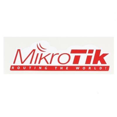 Nálepka MikroTik MTSTR