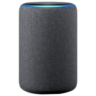 AMAZON hlasový asistent Echo Gray/ Amazon Alexa/ Wi-Fi/ Bluetooth/ 3.5 mm jack/ 3. generace/ šedý