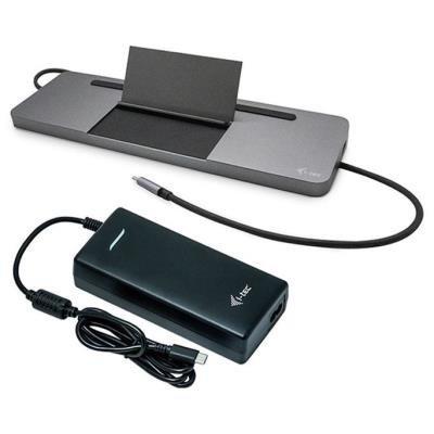 I-TEC USB-C Metal Ergonomic Dock 85W
