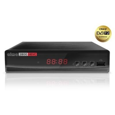 Set-top-box Alma DVB-T2 HD 2800