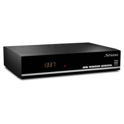 POŠKOZENÝ OBAL - STRONG DVB-S2 přijímač SRT 7007/ s displejem/ Full HD/ EPG/ USB/ HDMI/ LAN/ SCART/ černý