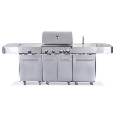 Gril G21 Arizona BBQ Premium Line stříbrný