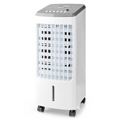 NEDIS ochlazovač vzduchu/ výkon 80 W/ nádržka 3 l/ cirkulace 270 m3/h/ 3 rychlosti/ časovač/ funkce Air Swing/ DO/ bílý