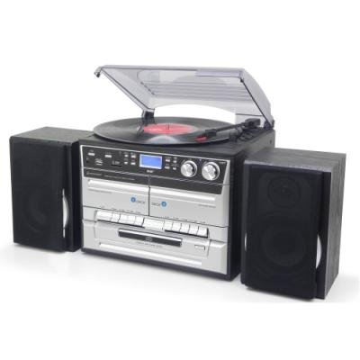 Soundmaster Music Center MCD5500SW/ USB/ FM/ DAB+/ CD/ SD/ Kazeta/ Gramofon