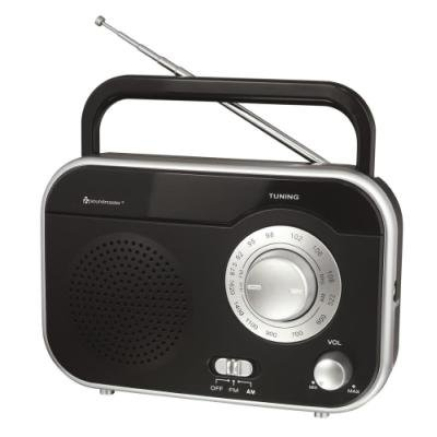 Rádio Soundmaster TR410SW černo-stříbrné