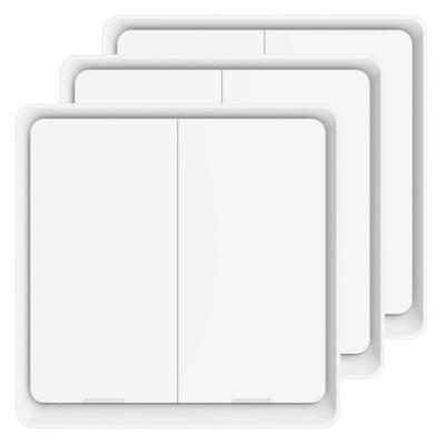 IMMAX NEO SMART vypínač 2tlačítkový 3ks